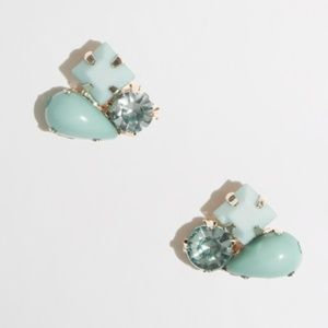 J.Crew Stone Cluster Stud Earrings